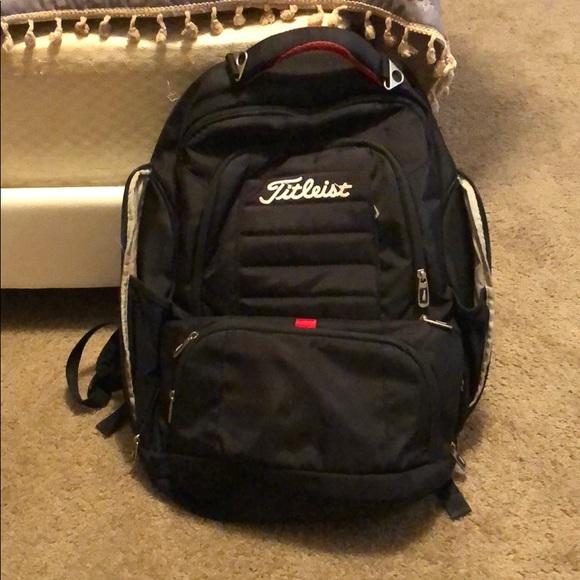 868263ec2c Titleist backpack! great condition! M 5b783a525a9d21843eccfcf5